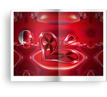 Book Of Love Canvas Print