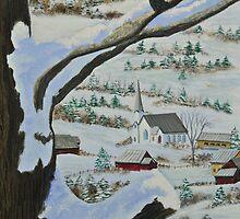 East Orange Vermont by Charlotte  Blanchard
