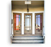 3 Doors Canvas Print