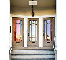 3 Doors Photographic Print