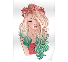 Rose Crown Poster