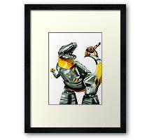 Transformers: Grimlock And Wheelie Framed Print
