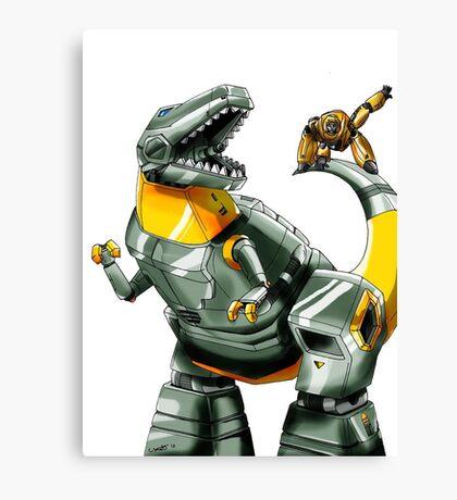 Transformers: Grimlock And Wheelie Canvas Print