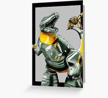 Transformers: Grimlock And Wheelie 2 Greeting Card