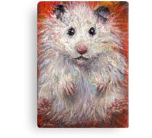 Impressionistic Hamster animal painting Svetlana Novikova Canvas Print