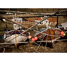 Staithes Boats Photographic Print
