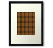 00426 Unnamed Brown (Teddy Bear) Framed Print