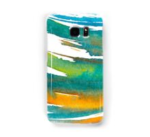 Abstract Watercolor Brush Samsung Galaxy Case/Skin
