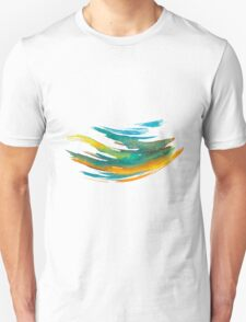 Abstract Watercolor Brush T-Shirt
