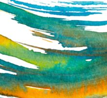 Abstract Watercolor Brush Sticker