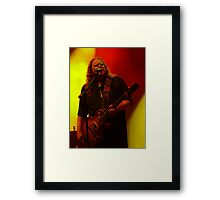 #254 Warren Haynes Framed Print