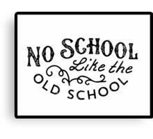 VW Old School Canvas Print