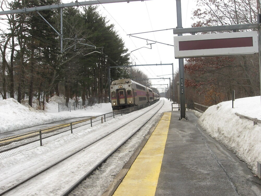 1713 MBTA Commuter Rail by Eric Sanford