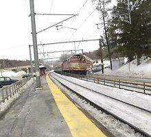 1054 MBTA Commuter Rail (Inbound) by Eric Sanford