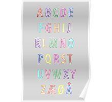 Alphabet I Poster