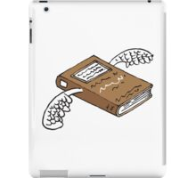 Books can give you wings 2 iPad Case/Skin