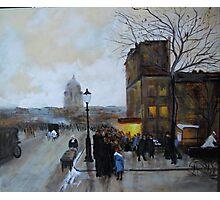 Boulevard Henri IV, Sunset from Luigi Loir Photographic Print