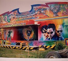 3D- fairground side show attraction  by Tony Rea