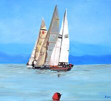 The Sailing Regatta by Teresa Dominici