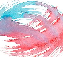 Colorful Watercolor Splash by LidiaP