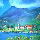 View of Varenna, Italy by Teresa Dominici