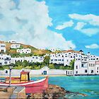 Mykonos, Greece by Teresa Dominici