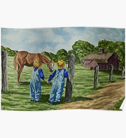 Here Horsey Horsey Poster