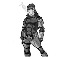 Metal Gear Solid V - Solid Snake Photographic Print