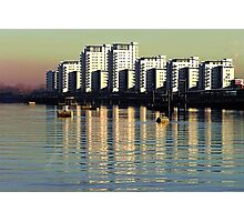 Riverside Apartments Photographic Print
