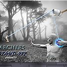 Archers Stand-Off by Andrew  Donegan aka Piebald77