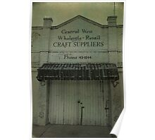 Craft Suppliers Poster