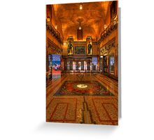 State Theatre HDR Greeting Card
