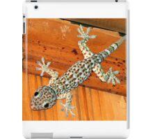gecko, the sound of Asia iPad Case/Skin