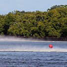 RED BUBBLE must always be on the LHS of speedboats and skiers  by myraj