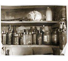 Ye Old Bottles Poster