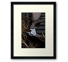 Shot gun Framed Print
