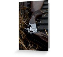 Shot gun Greeting Card
