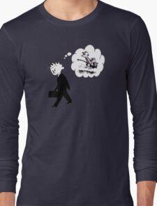 Old Calvin, Good Memories Long Sleeve T-Shirt