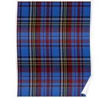 00430 Anderson Westwood Blue Tartan  Poster