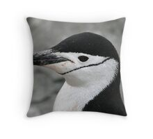 Chinstrap penguin 2 Throw Pillow