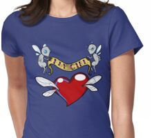 Fly Girl  Womens Fitted T-Shirt