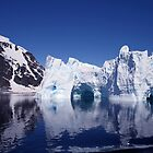 Icebergs in Antarctica 2 by rhallam