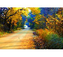 Barefoot Lane Photographic Print