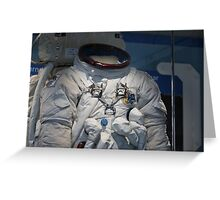 Space Suit Greeting Card