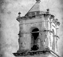 Mission San Jose Bell Tower by Colleen Drew