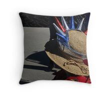 Liberty! Throw Pillow