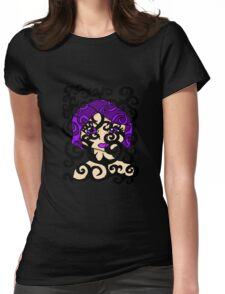 Lavender Vines  Womens Fitted T-Shirt