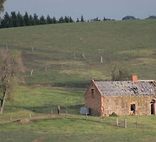 Old Farmhouse by Tony Waite