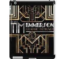 Art Deco - Advertising Design iPad Case/Skin