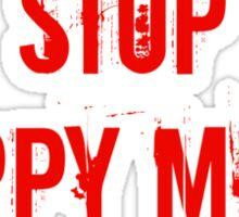 Stop Puppy Mills (Red Logo) Sticker